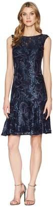 Adrianna Papell Short Trumpet Dress Women's Dress