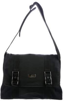 Gucci Canvas Buckle Messenger Bag