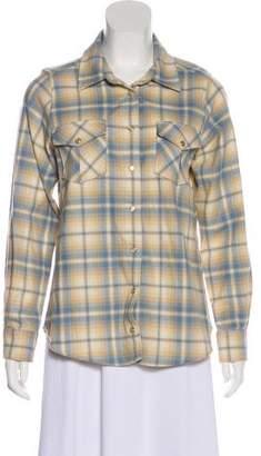 Pendleton Virgin Wool Plaid Button-Up