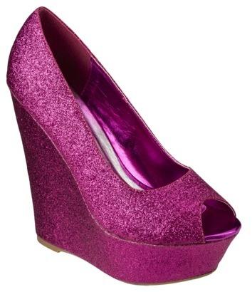 Women's De Blossom Kay Glitter Wedge - Assorted Colors