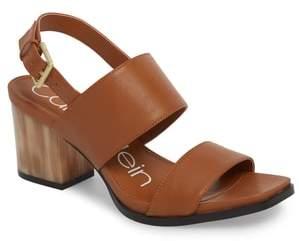 Calvin Klein Rosemary Block Heel Sandal