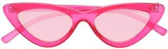Le Specs Last Lolita Sunglasses in Pink