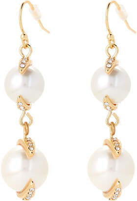 Vince Camuto Gold-Tone Double Drop Earrings
