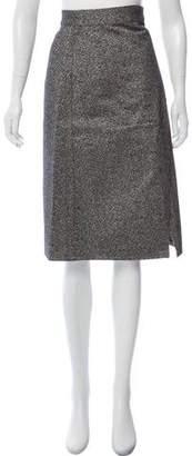 Acne Studios Knee-Length Bouclé Skirt