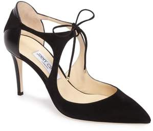 Jimmy Choo Vanessa Lace-Up Pump