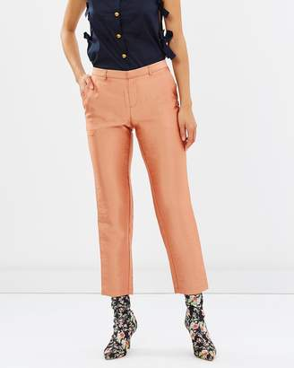 Maison Scotch Grosgrain Tailored Pants
