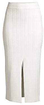 Yigal Azrouël Azrouël Women's Ottoman Fortuny Midi Pencil Skirt