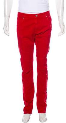 Pierre Balmain Skinny Moto Jeans w/ Tags
