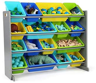 TOT Tutors WO498 Elements Collection Wood Toy Storage Organizer