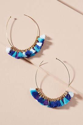 Mignonne Gavigan Hallie Duster Hoop Earrings
