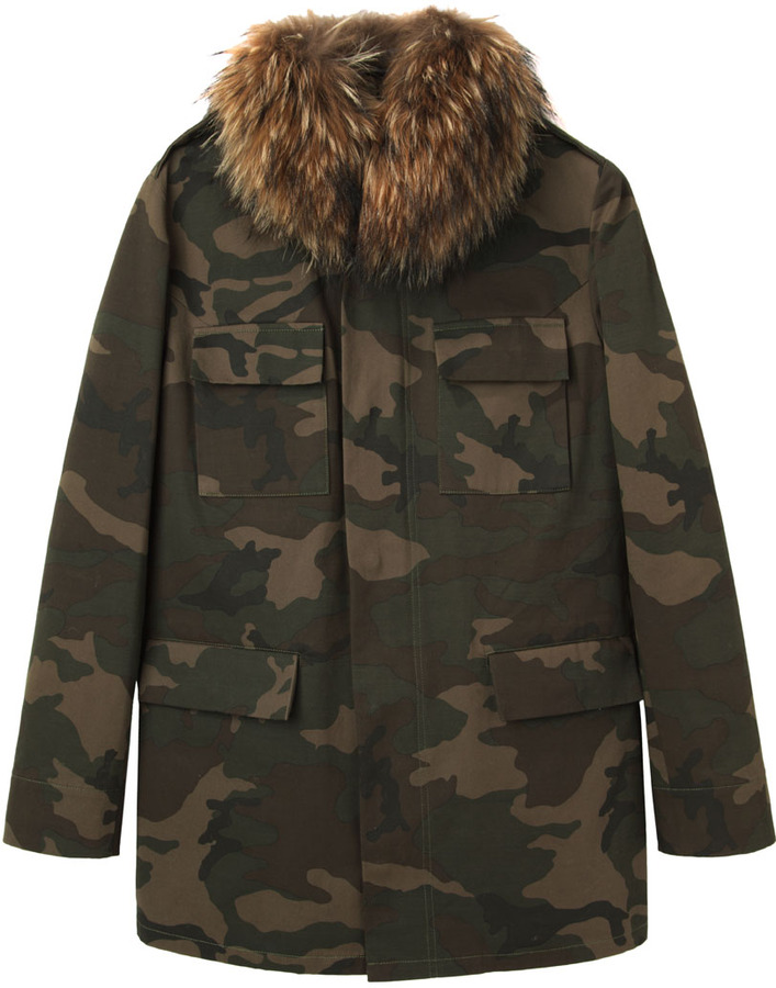 AR+ AR SRPLS / m65 jacket with fur