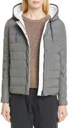 Brunello Cucinelli Down Fill Taffeta Puffer Jacket