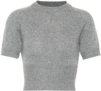 Prada Cropped cashmere sweater