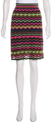 Missoni Knit Patterned Skirt
