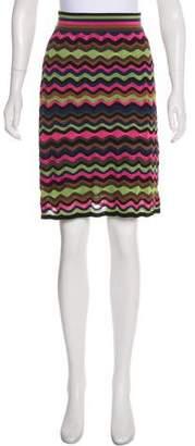 Missoni Knit Patterned Skirt