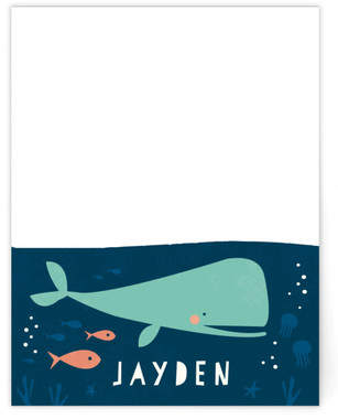 Deep Sea Diver Children's Personalized Stationery