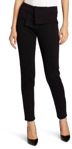 Luce C. Women's Seam Fitted Straight Leg Trousers