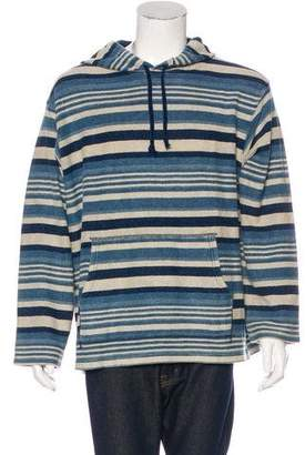 Co RRL & Striped Knit Hoodie w/ Tags