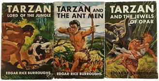 One Kings Lane Vintage Tarzan Early Editions - Set of 3