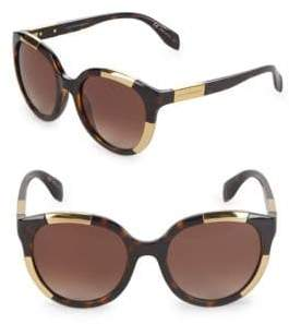 Alexander McQueen 52MM Oversized Sunglasses