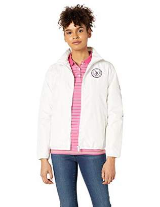 U.S. Polo Assn. Womens Light Filled Windbreaker Jacket -