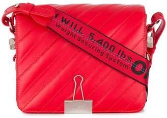 Off-White Diag padded flap bag