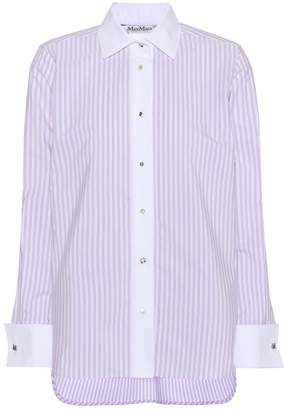 Max Mara Edgard cotton tunic shirt