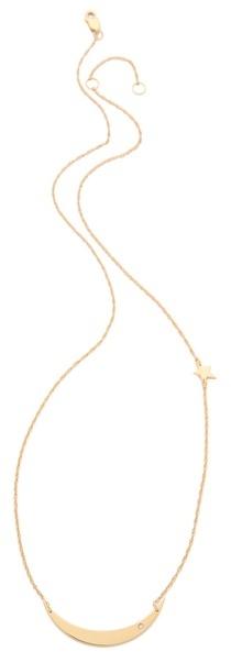 Jennifer Zeuner Jewelry Mood Diamond & Star Necklace