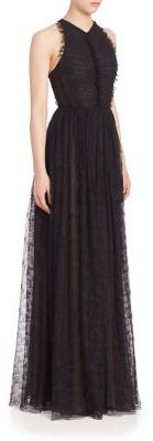 Jason Wu Sleeveless Lace Gown $3,795 thestylecure.com