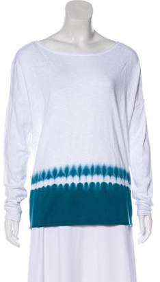 Vince Dip-Dye Long Sleeve Top