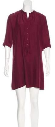 Tucker Silk Mini Dress