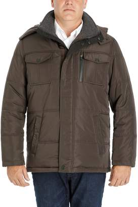 London Fog Tower By Men's Tower by Quilted Hooded Parka