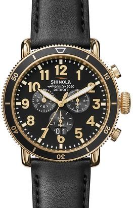 Shinola The Runwell Sport Chronograph Watch, 48mm $925 thestylecure.com