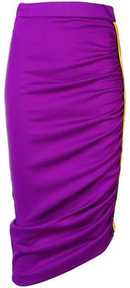 Pinko asymmetrical pencil skirt