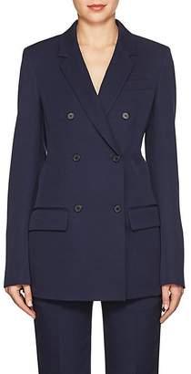Calvin Klein Women's Wool Gabardine Double-Breasted Blazer