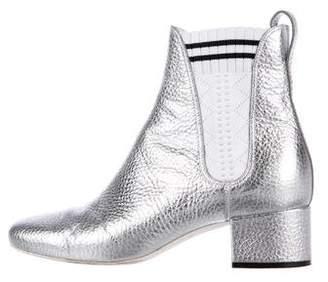 Fendi 2017 Metallic Ankle Boots