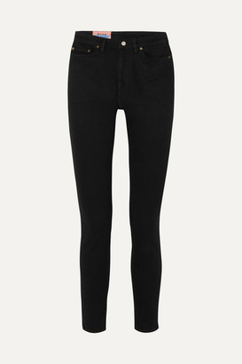 Acne Studios Peg High-rise Skinny Jeans - Black
