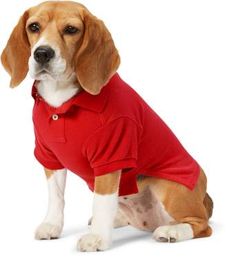 Ralph Lauren Cotton Pique Dog Polo Shirt