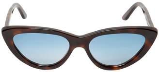 Christian Roth Firi Cat-eye Tortoiseshell Sunglasses