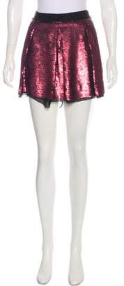 Proenza Schouler Sequined Mini Skirt