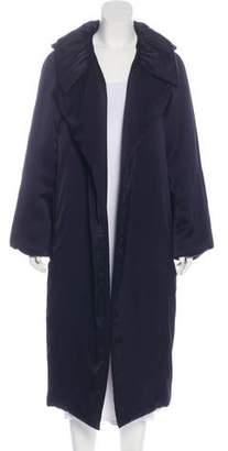 Lanvin Open Front Long Coat