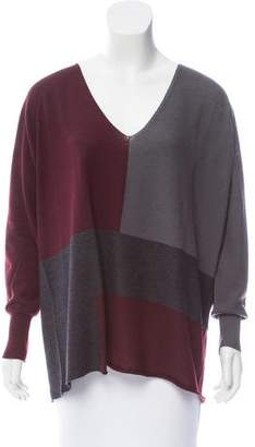 Fabiana Filippi Colorblock Wool Sweater