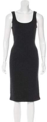 Ralph Lauren Black Label Sleeveless Cashmere Knit Dress