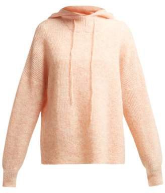 Ganni Callahan Hooded Sweater - Womens - Light Pink