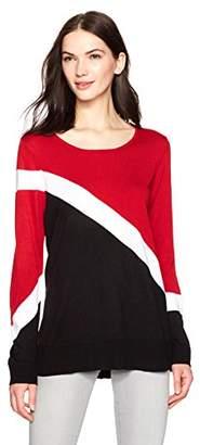 Calvin Klein Women's Crew Neck with Stripe
