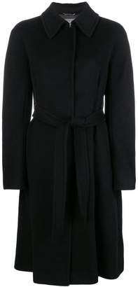 Alberta Ferretti single breasted coat