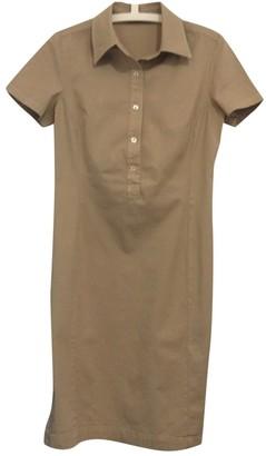 Brooksfield Beige Cotton - elasthane Dress for Women