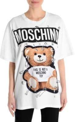 Moschino Bear Logo T-Shirt