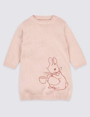 """Marks and Spencer 2 Piece Peter Rabbitâ""""¢ Knitted Dress with Tights"""