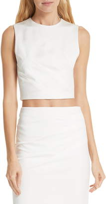 Alice + Olivia Olive Fitted Tank